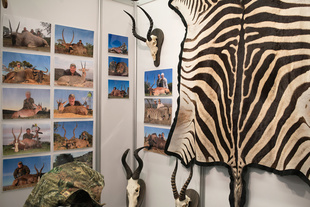 Hunting and Fishing Trade Show, Montreal, January 31, 2014.