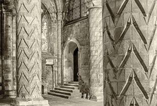 Nave, Dunfermline Abbey, Fife, Scotland.