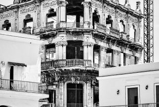The Acute Charm of Ruin & Development, #1 (Plaza Vieja), Havana, Cuba, 2017.