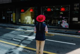 Red hat man