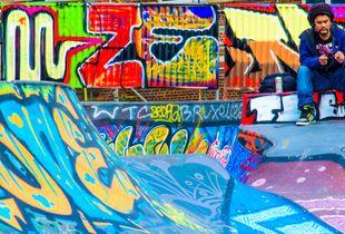 Skateboard track, Bruxelles