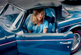 Blonde in a Blue Convertible, New York, NY, 1981 © Robert Herman
