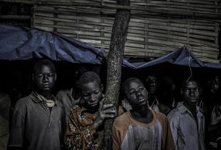 Young miners of Kineba