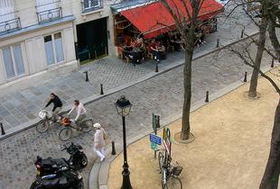 La Cour de la Ville: Place Dauphine