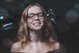 Bubbles makes me smile !