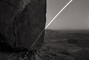 Chalk Moonrise, Muley Point, Utah. 1st place, series, LensCulture Exposure Awards 2015.