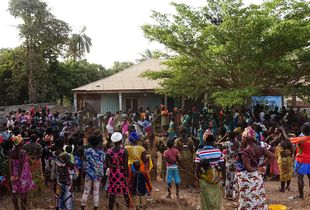 Felupe party in Bissau