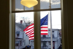 split flag - Saugerties Public Library