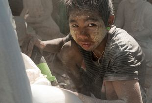 Child Labourer, Mandalay