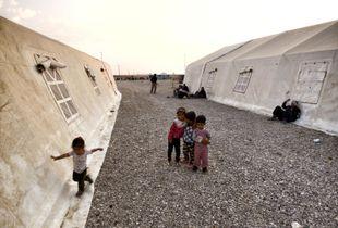childish game in borderline camp.     Mehran,ilam,iran   nov 2017