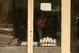 An egg seller
