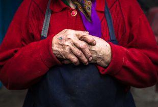 Anna's hands