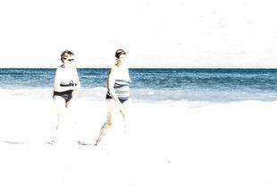 A stroll at the beach