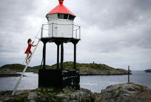 Lighthouse, Skrova, Norway