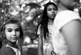 Roma (gipsy) girls