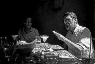 Ed Dorn and Robert Creeley. Boulder, 1993.