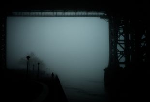 Bridge in Fog 3