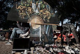 Reggio Calabria-Italy                                    Illegal Workers