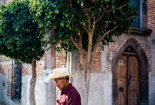 Stroller in San Miguel de Allende, Mexico