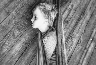 Boy in the Hammock
