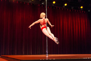 Pole dancing is still viewed by many as an activity for strippers and prostitutes, but the USPDF shows these women are skillful athletes who contradict the usual associations and bring Pole dancing to a new respectable level that can attract many women to want to learn the skills it takes to Pole dance.