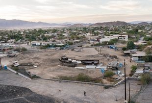 San Felipe, a fıshing town on the Gulf of California, Mexico