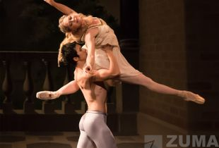Kansas City Ballet performs Romeo & Juliet with Molly Wagner and Liang Fu.