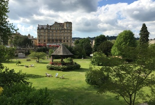 Parade Gardens in Bath, UK