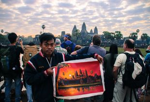 Hunting sunrise in Angkor Wat 2014