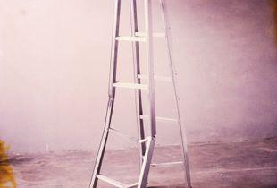 a broken ladder