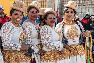Mujeres del altiplano peruano 1