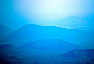 Blue hills to Mauna Kea