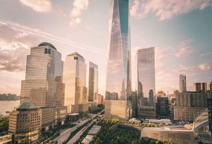Summer Light at One World Trade