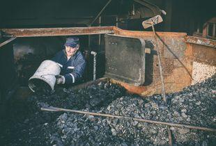 Maquinista y carbonero