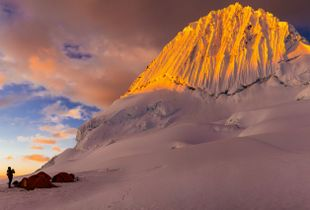 Alpamayo High Camp Sunset