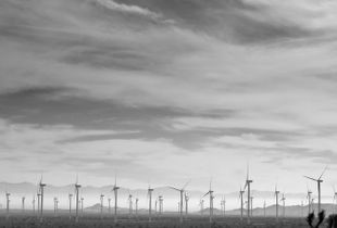 Sky, Desert and Windmills