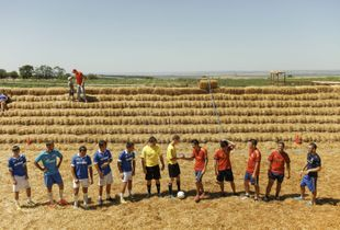 Straw Football (Straw Soccer)
