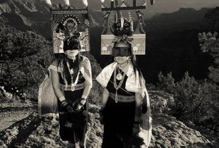 Hopi Butterfly Maiden Dancers at Ongtupqa