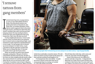 Blink user and photographer Carlos Alvarez-Montero on assignment for Financial Times Weekend Magazine.