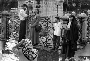A Family Snap Shot at Sultanahmet Square / Istanbul