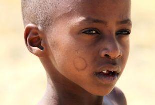 Maasai boy in Tanzania