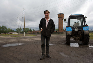 A Russian Farmer, The Urals.