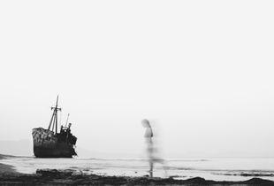 A graveyard boat full of memories hidden