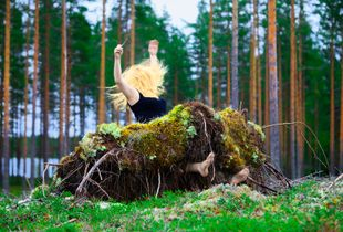 Spruce Skirt , 2011 © Anni Kinnunen