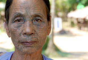 Chin Tattoo Myanmar