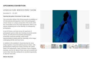 LensCulture Winter Print  Show