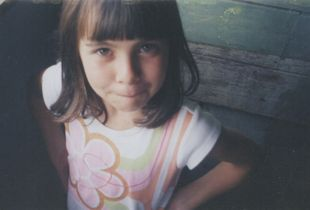 Portrait from my childhood, I was 7 years old.