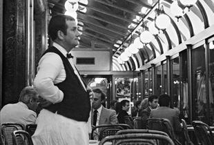 Café de la Paix, Paris, France, 1982