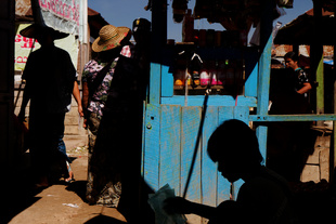 Myanmar, Zegyo's market