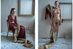 "Alina. Series of photos ""Remove your clothes"""